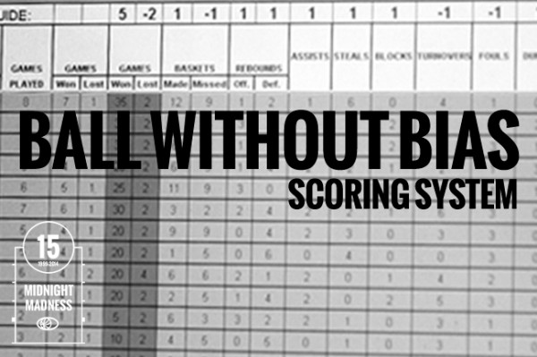 Ball Without Bias Scoring System
