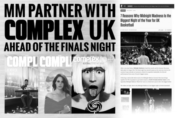 MM Partner With Complex UK To Get You In The Game!