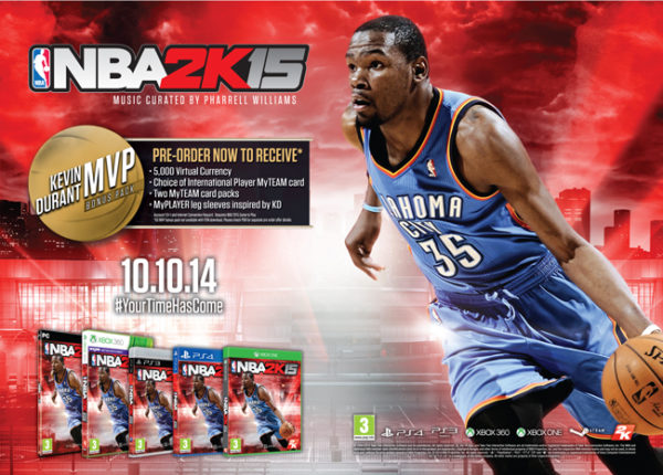 Midnight Madness Partner With NBA2K15