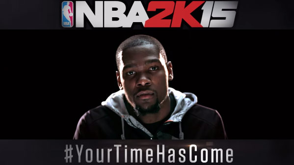 Your Time Has Come – NBA2K15 Releases Across The UK