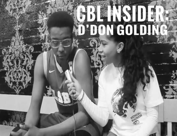 CBL INSIDER: D'JON GOLDING (CONEL)