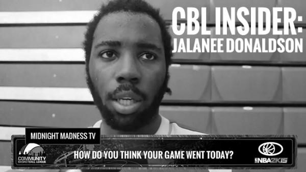 CBL INSIDER: MVP JALANEE DONALDSON (EDMONTON COUNTY CAVALIERS)