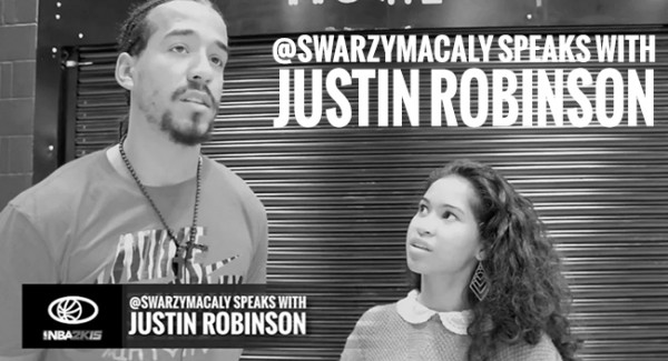 @SWARZYMACALY SPEAKS WITH JUSTIN ROBINSON