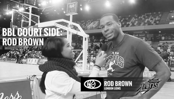 BBL COURT SIDE: @SWARZYMACALY INTERVIEWS ROD BROWN (POSTGAME)