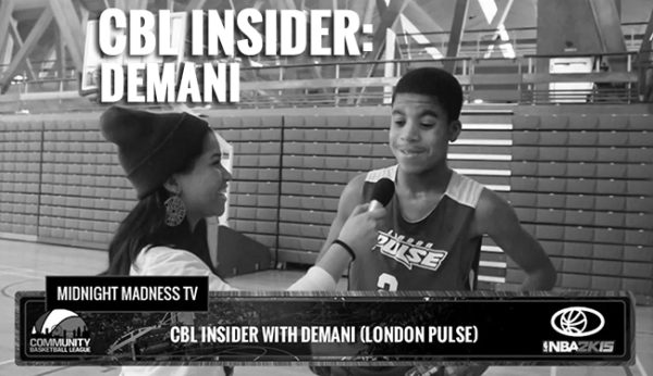 CBL INSIDER WITH DEMANI (LONDON PULSE)